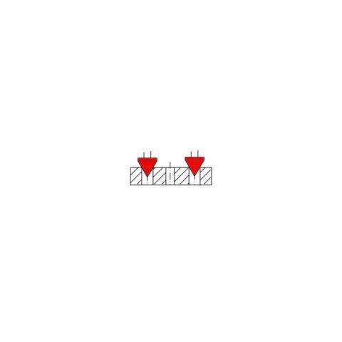 Штангенциркуль для измерения межцентровых расстояний Штангенциркуль для измерения межцентровых расстояний ШЦЦМ-500 -  схема