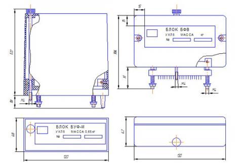 Схема Блока БУФ-М