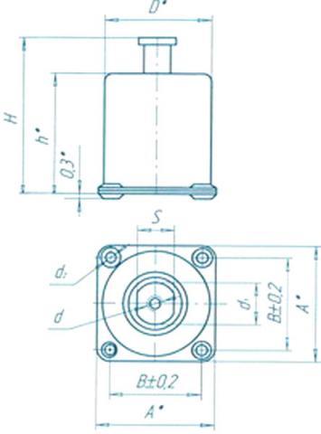 Схема амортизатор АПНМ-1 - фото