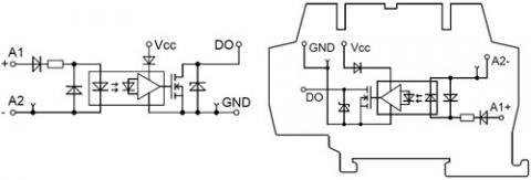 Рис.1. Функциональная схема модуля гальванической развязки