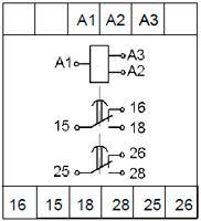 Рис.2. Схемы подключения реле ВЛ-176 с дискретным питанием