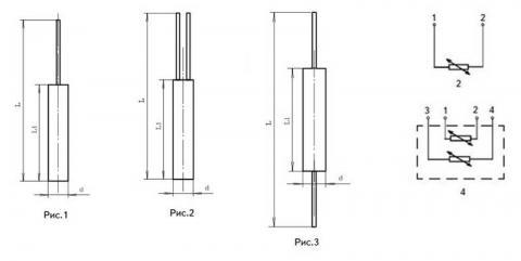 Схема габаритов элемента ЕЧМ-0183