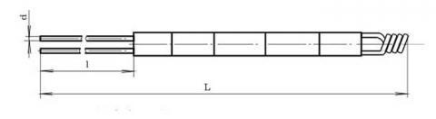 Схема габаритов преобразователя ТПП-1888