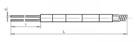 Схема габаритов преобразователя ТПР-1888