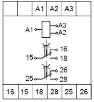 Рис.2. Схемы подключения реле ВЛ-178 с дискретным питанием