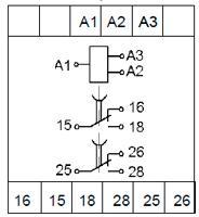 Рис.1.Схемы подключения реле ВЛ-179 с дискретным питанием