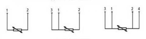Схема соединений термопреобразователя ТСМ-1088