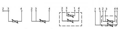Схема соединения ТСП-8040