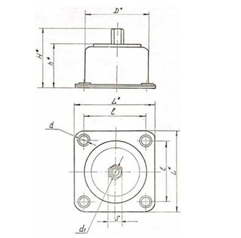 Амортизатор АД-6А - фото  схемы