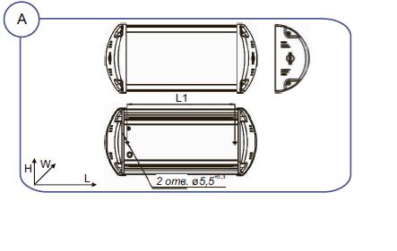 Схема светильника ДББ37У Селена-LED-2 - фото