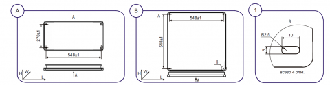 Светильник ДВО27У Юпитер-LED-2 - схема