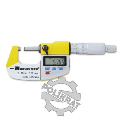 Микрометр цифровой МКЦ-25 IP65 - фото