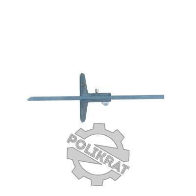 Штангенглубиномер нониусный ШГ-500 - фото
