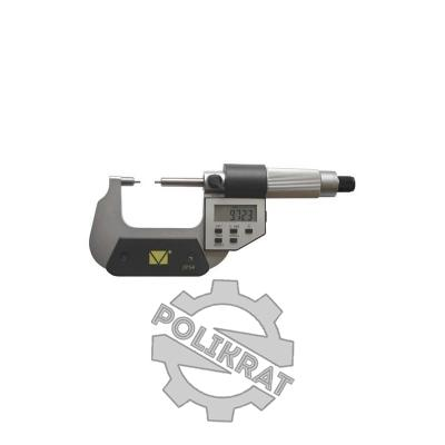 Микрометр с малыми губками цифровой МКМЦ-100 - фото
