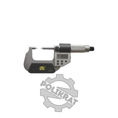 Микрометр с малыми губками цифровой МКМЦ-175 - фото