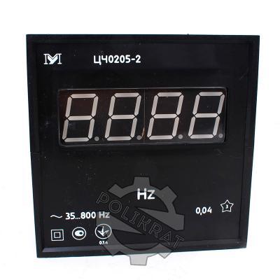 Частотомер щитовой цифровой ЦЧ0205-2 - фото