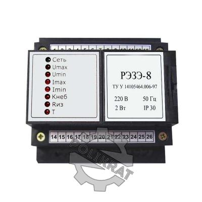 Электронное реле защиты электродвигателя РЭЗЭ-8