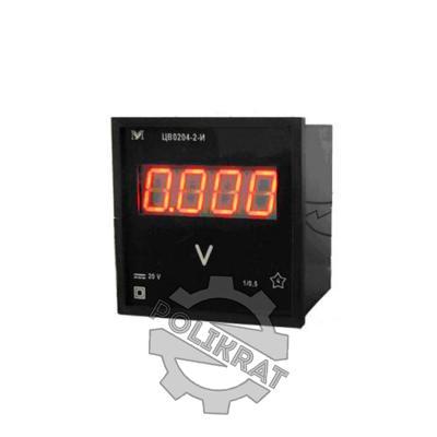 Вольтметр ЦВ0204-2-И - фото