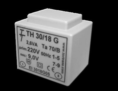 Малогабаритные трансформаторы для печатных плат ТН 30/18 G - фото