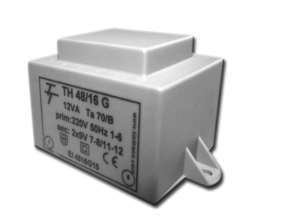 Малогабаритные трансформаторы для печатных плат ТН 48/16 G - фото
