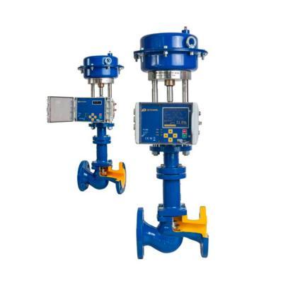 Клапаны сильфонные с пневмоприводом и позиционером арт. 236 ZETKAMA - фото